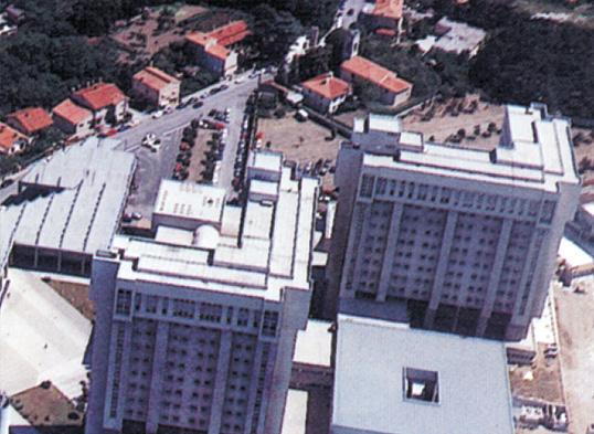 Nuovo ospedale di Trieste massetti di livellamento