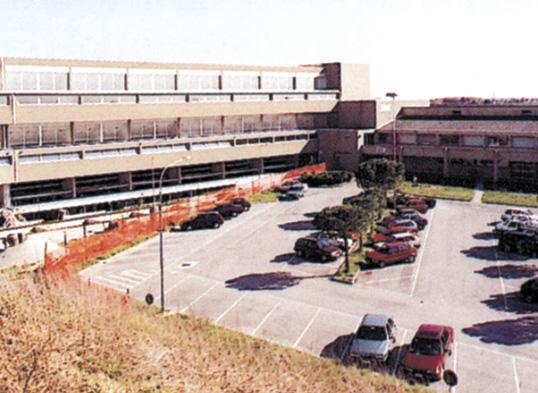 Nuovo ospedale di Palmanova (UD) livellamento ai piani
