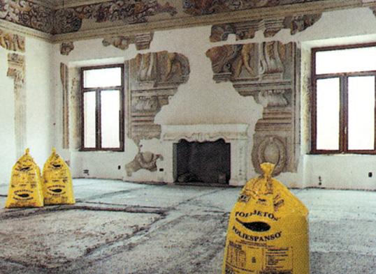 Palazzo Valenti Gonzaga a Mantova rifanchi delle volte