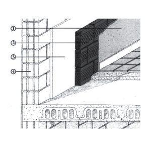 Intercapedine verticale