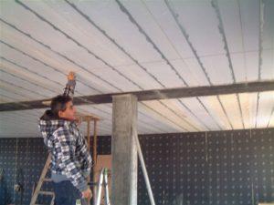 Tracciamento posizione a soffitto per parete