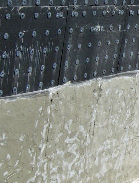 l'impermeabilizzazione del muro Plastbau® 3