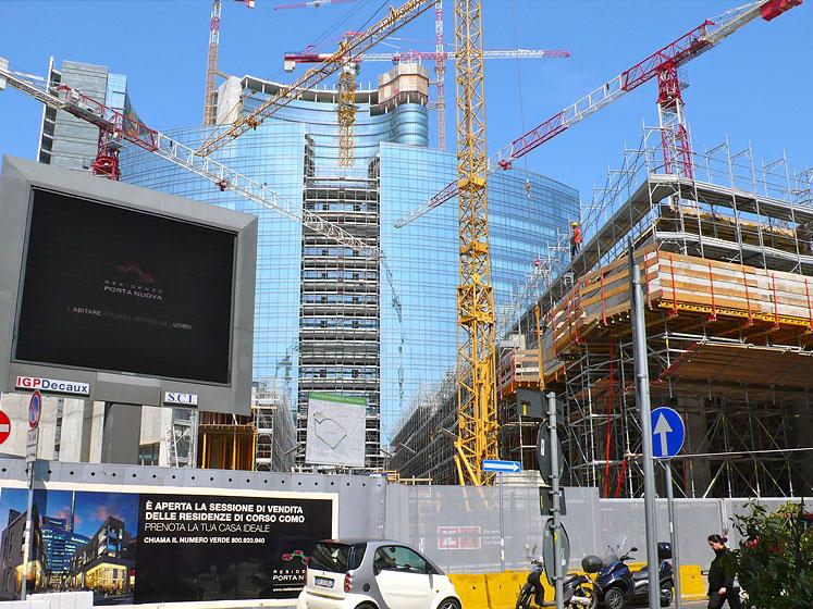"""Nuovo Complesso Immobiliare """"Corso Como"""" a Milano"""