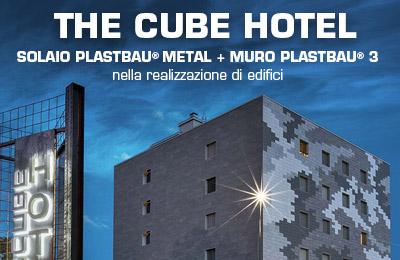 Newsletter realizzazione The Cube Hotel