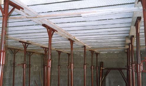 Come si presenta, visto da sotto, il Solaio Plastbau® Metal dopo la posa