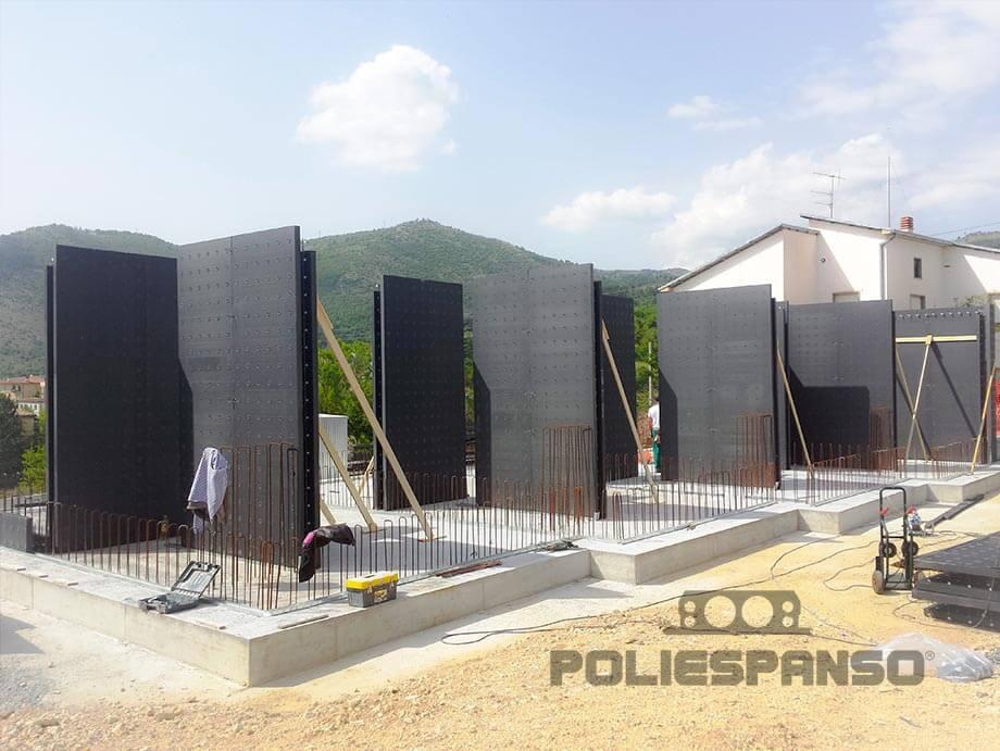 Cantiere edile - Muro Plastbau® 3