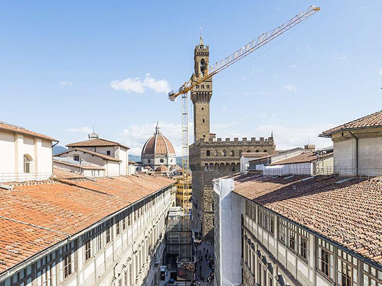Restauro del complesso museale degli Uffizi